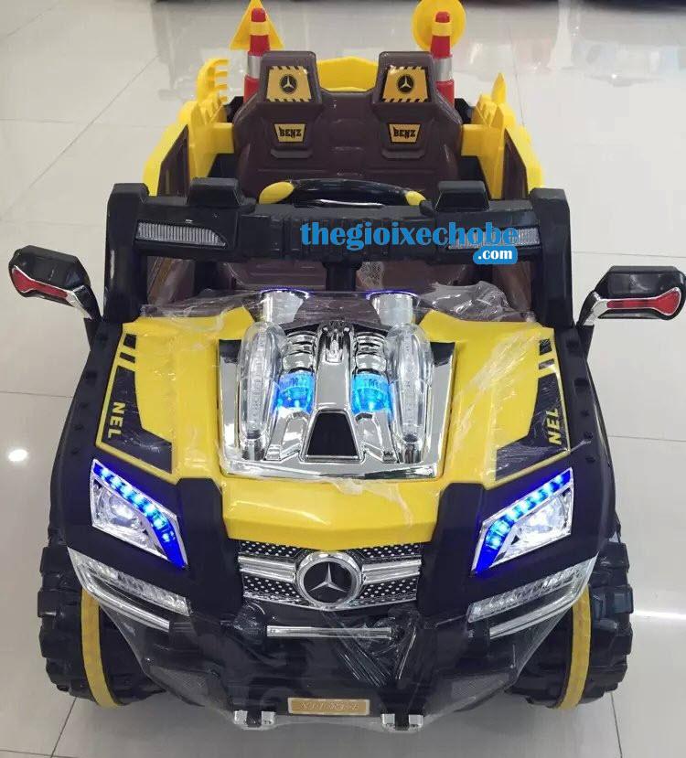 Xe ô tô điện trẻ em 803 màu vàng