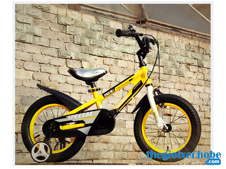 Xe đạp trẻ em RoyalBaby FreeStyle Space No1 RB-17 màu vàng