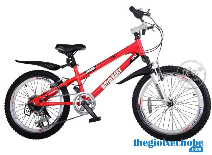 Xe đạp trẻ em RoyalBaby FreeStyle 20B-6S màu đỏ
