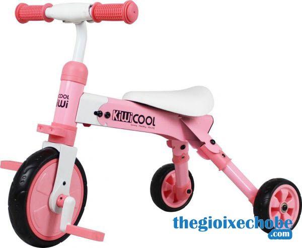 Xe đạp 3 bánh trẻ em AH-003 màu hồng