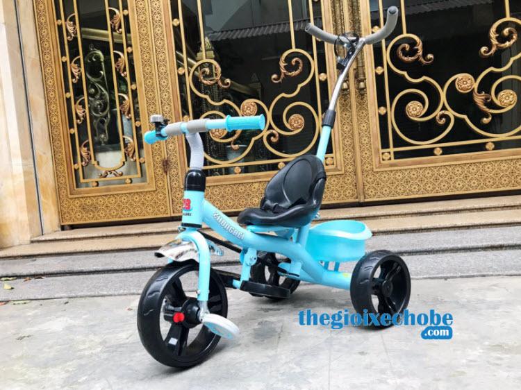 Xe đạp 3 bánh trẻ em 669 có cần đẩy