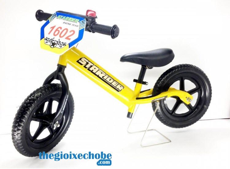Xe thăng bằng cho bé Starider Pro màu vàng