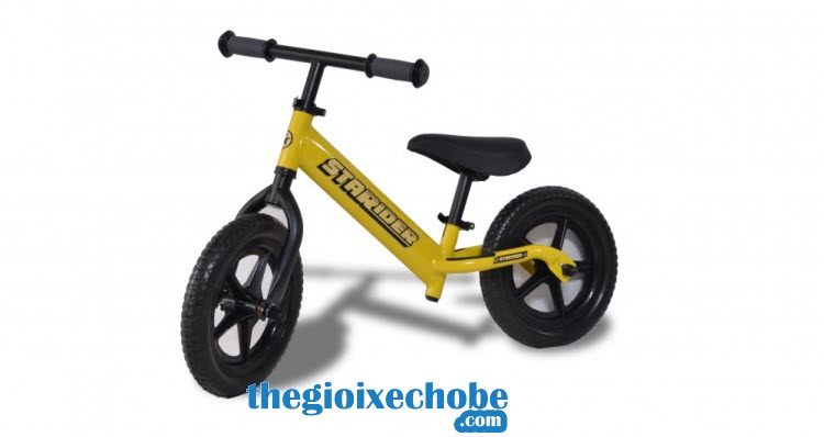 Xe thăng bằng cho bé Starider Lite màu vàng