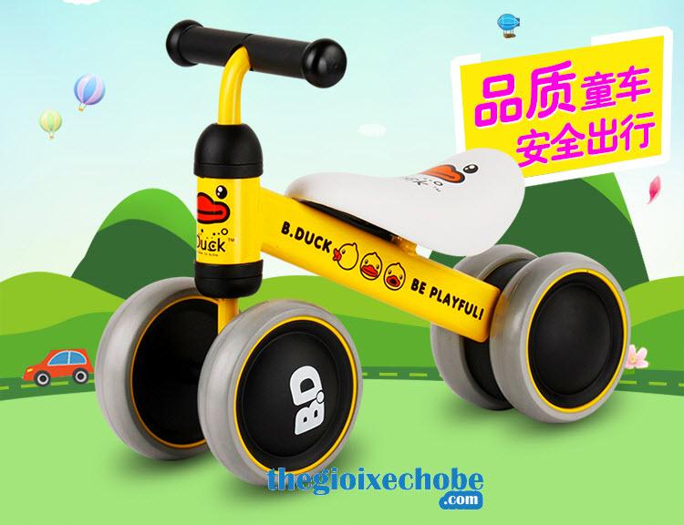 Xe thăng bằng cho bé YBE-9988 màu vàng