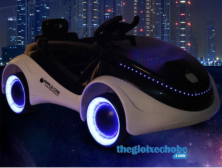 Xe ô tô điện trẻ em MG-158 có hệ thống đèn led cực đẹp