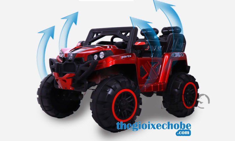 Xe ô tô điện trẻ em BQ-2188 màu đỏ