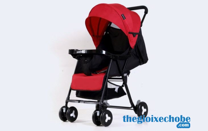 Xe đẩy cho bé Seebaby QQ3 màu đỏ