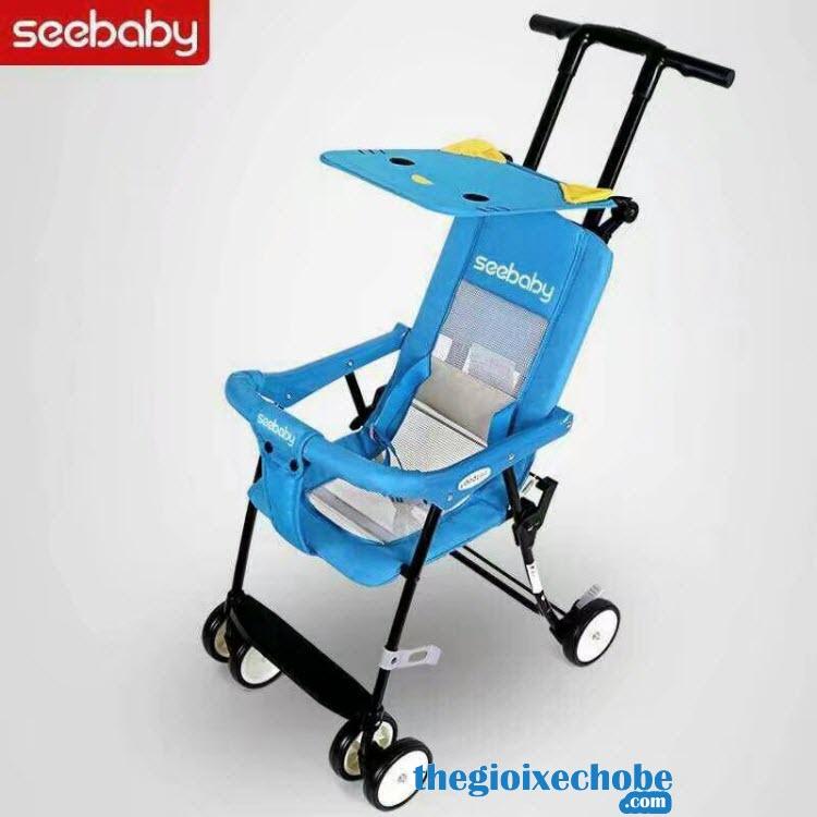 Xe đẩy cho bé Seebaby QQ1-2 màu xanh dương