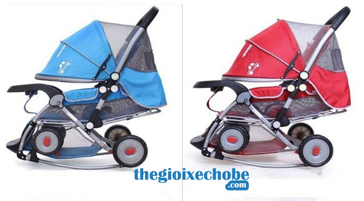 Xe đẩy cho bé Baobaohao 720A có 2 màu