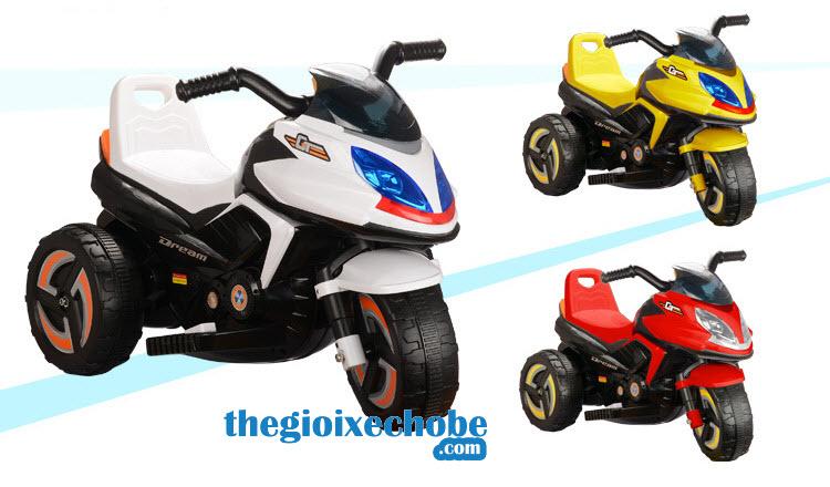 Xe máy điện trẻ em 9801 nhiều màu cho bé lựa chọn