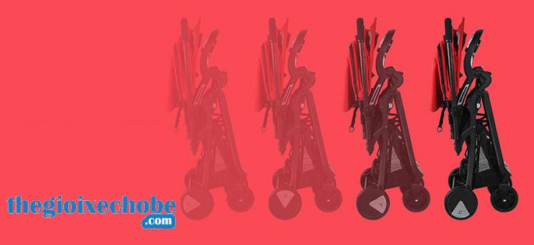 Xe đẩy trẻ em Baobaohao QK1 có thể gập gọn
