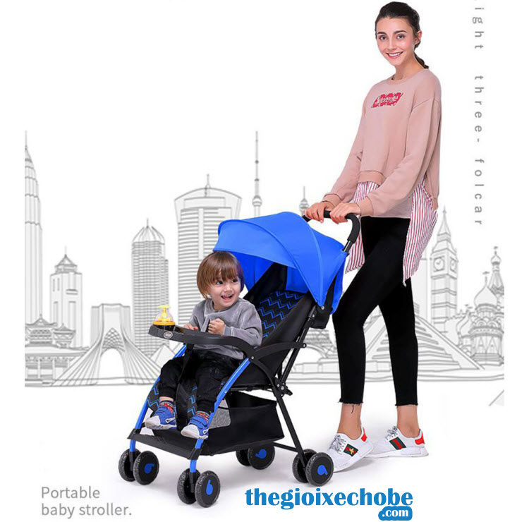 Xe đẩy cho bé Baobaohao 723 cho mẹ và bé dạo chơi,hóng gió