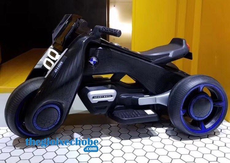 Xe máy điện trẻ em BDQ-6188 màu đen