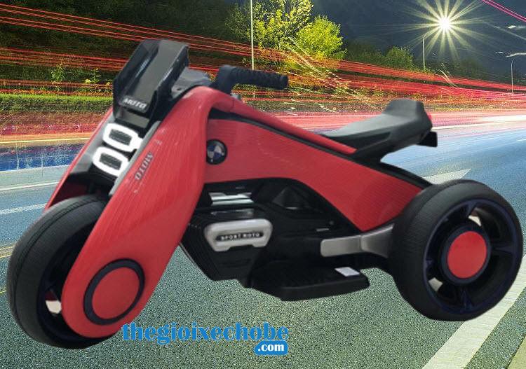 Xe máy điện trẻ em BDQ-6188 màu đỏ