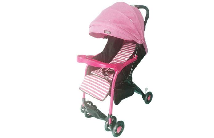 Xe đẩy trẻ em BLB-769 màu hồng