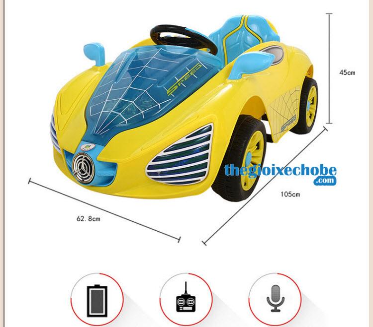Kích thước xe ô tô điện trẻ em YH - 99159