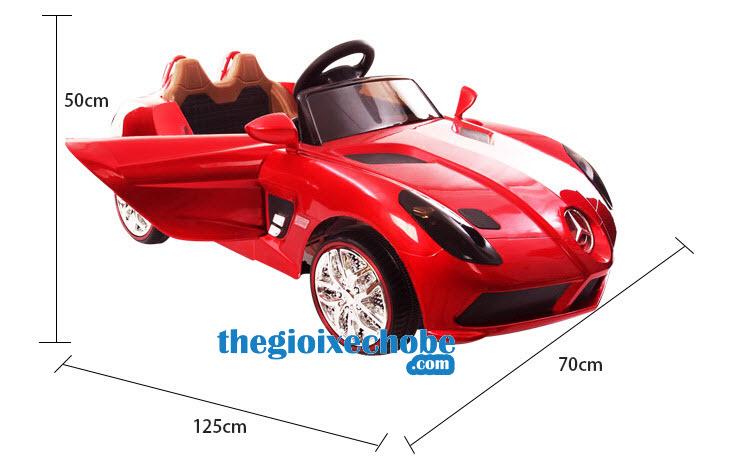 Kích thước xe ô tô điện trẻ em OZB-8888