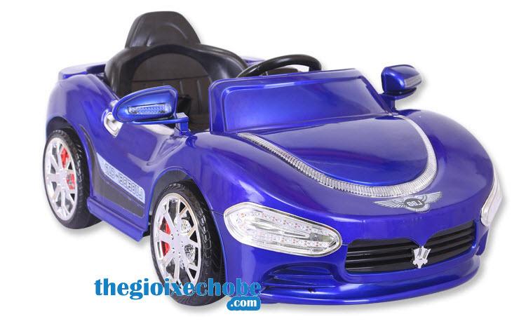 Xe ô tô điện trẻ em HP-5188 màu xanh
