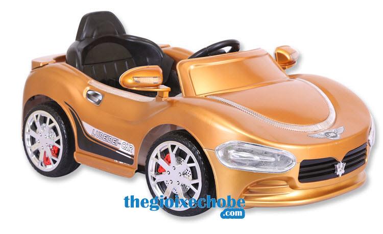 Xe ô tô điện trẻ em HP-5188 màu nâu
