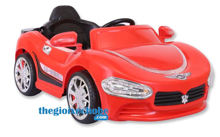 Xe ô tô điện trẻ em HP-5188 màu đỏ tươi