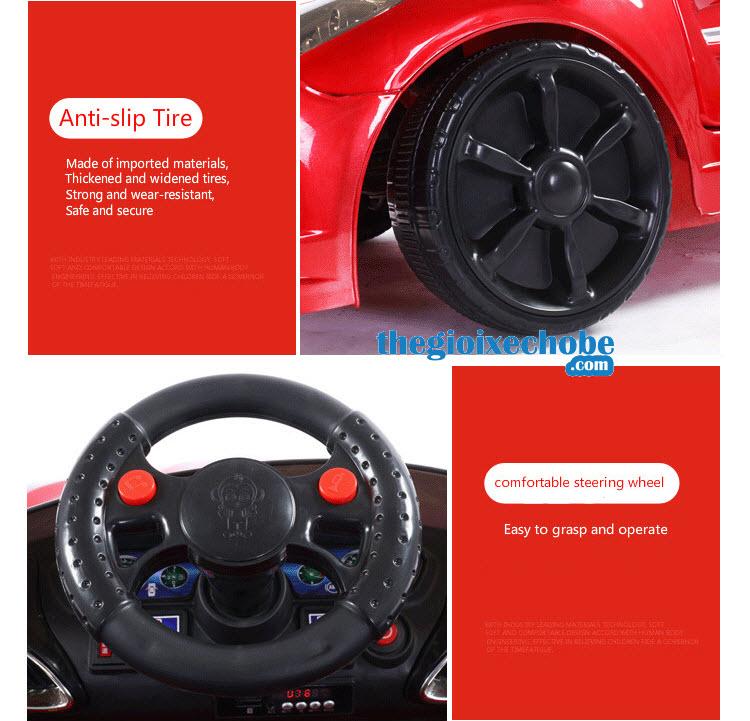 Bánh xe ô tô điện trẻ em XL-5200