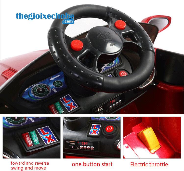 Vô lăng xe ô tô điện trẻ em XL-5200