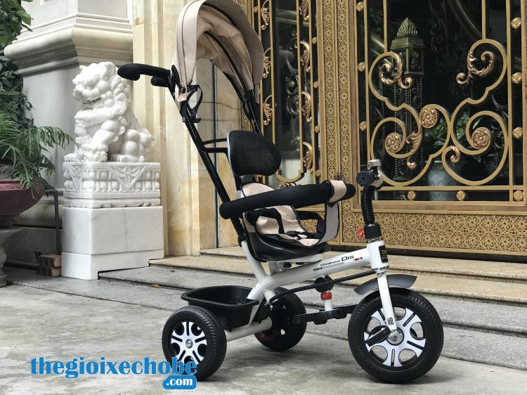 Xe đạp 3 bánh trẻ em DS-138 là món quà tuyệt vời cho con