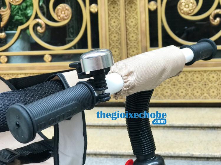Xe đạp 3 bánh trẻ em DS-138 có tay lái chắc chắn