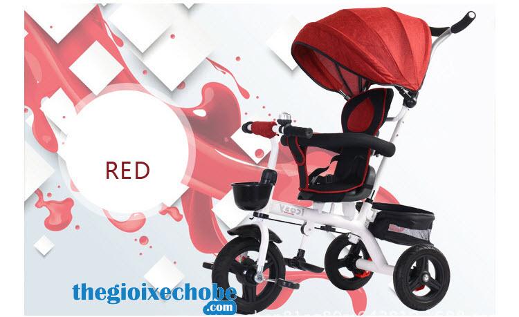 Xe đạp 3 bánh trẻ em 313 màu đỏ