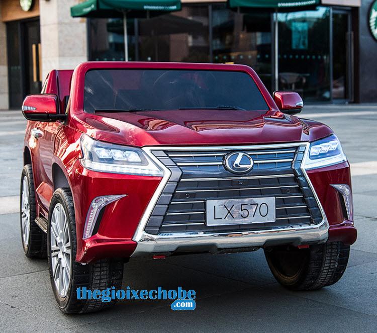 Xe ô tô điện trẻ em Lx-570 màu đỏ