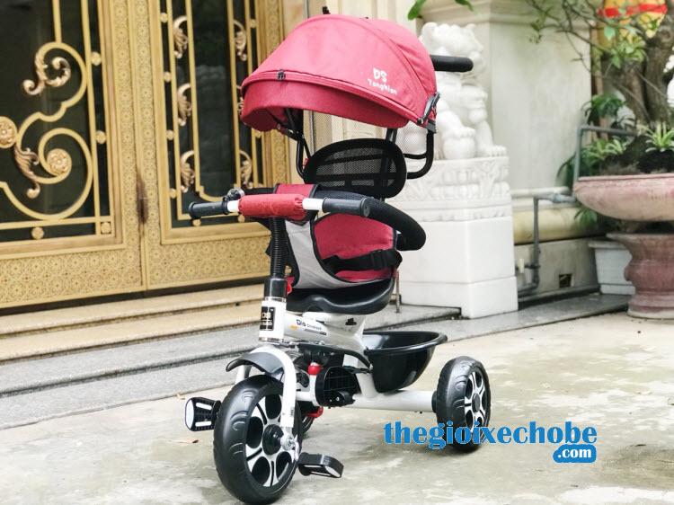 Xe đạp ba bánh trẻ em Ds-138 màu đỏ