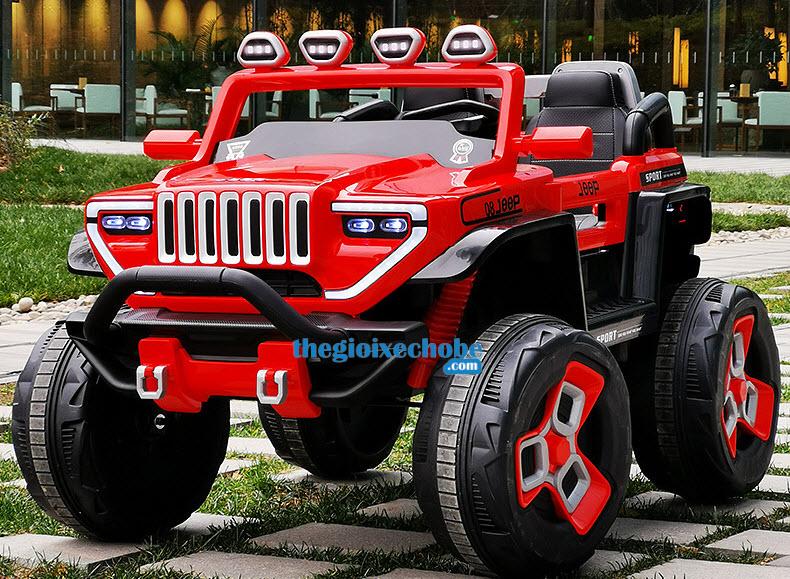 Xe ô tô điện trẻ em BDQ1200 màu đỏ