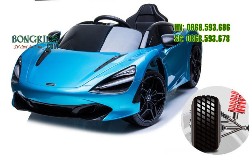Xe ô tô điện trẻ em 720S màu xanh1