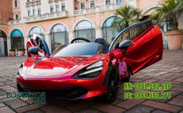 Xe ô tô điện trẻ em 720S màu đỏ