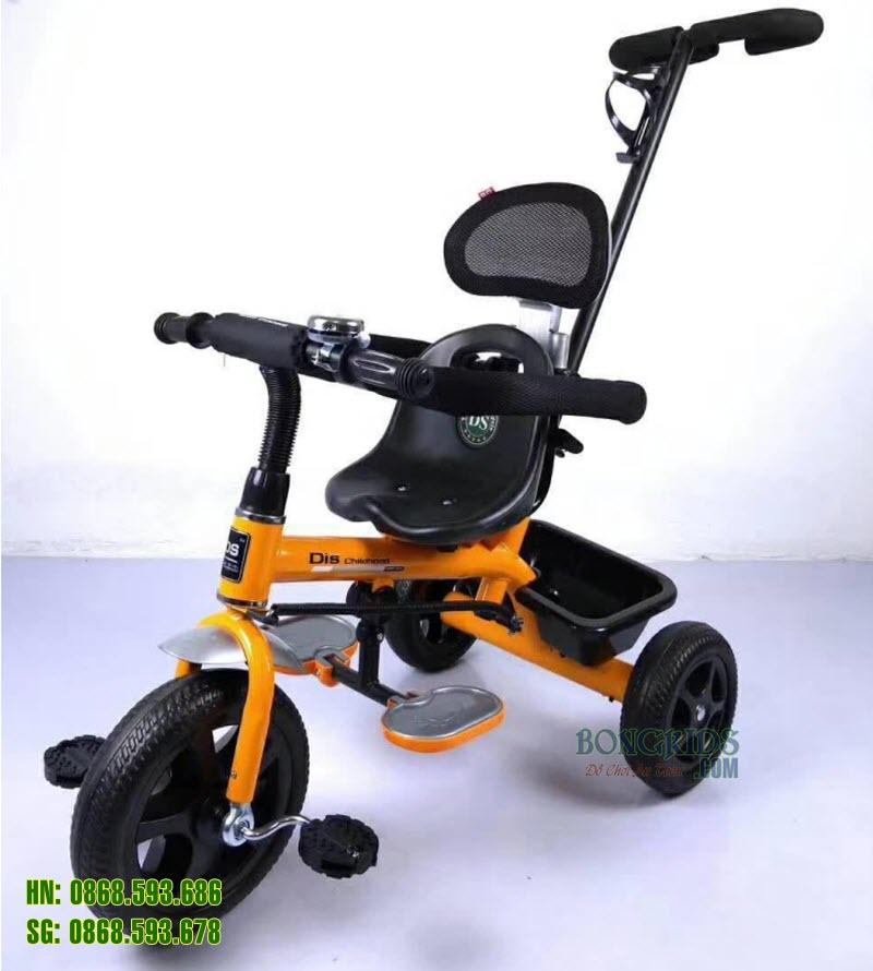 Xe đạp 3 bánh trẻ em DS-919 màu cam