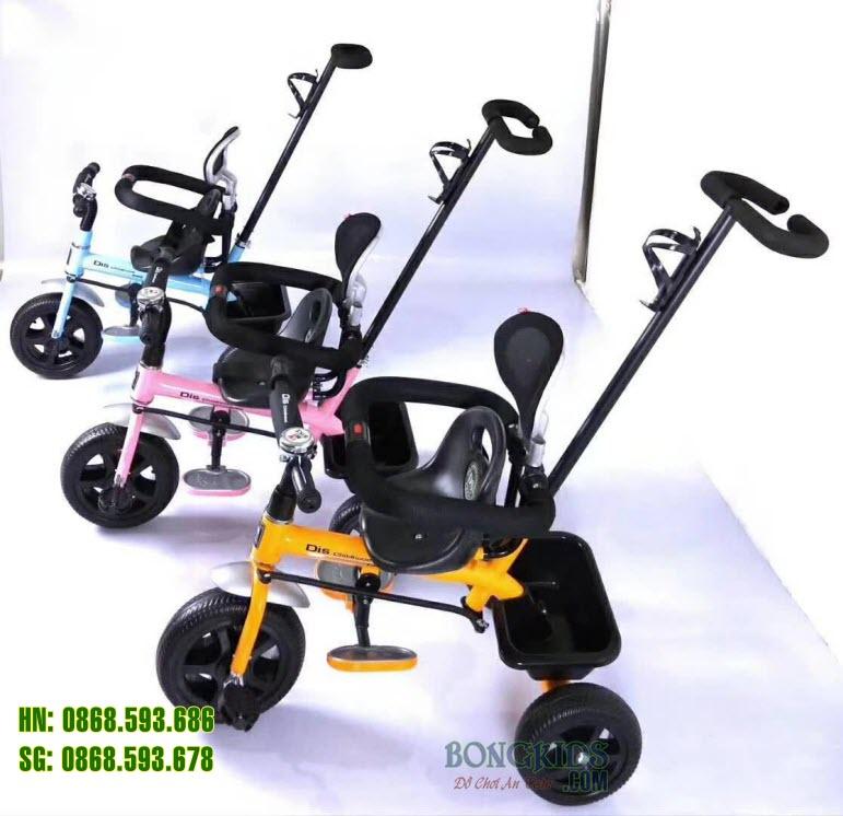 Xe đạp 3 bánh trẻ em DS-919 có 3 màu