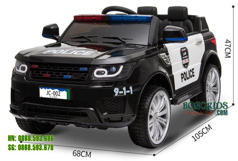 Kích thước xe ô tô điện trẻ em JC002