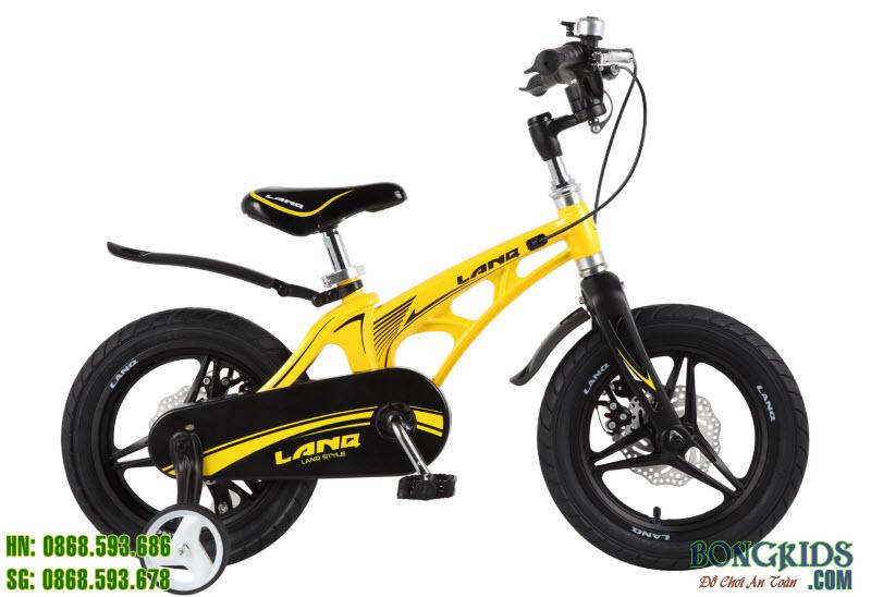 Xe đạp trẻ em LANQ 46 màu vàng