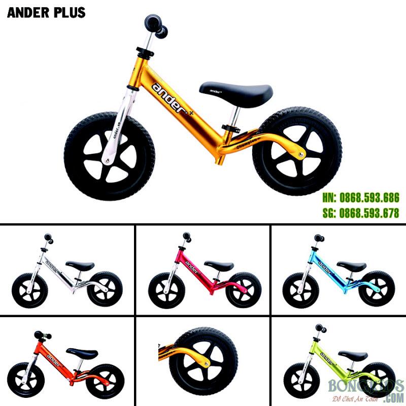 Xe thăng bằng cao cấp cho bé Ander Plus 1