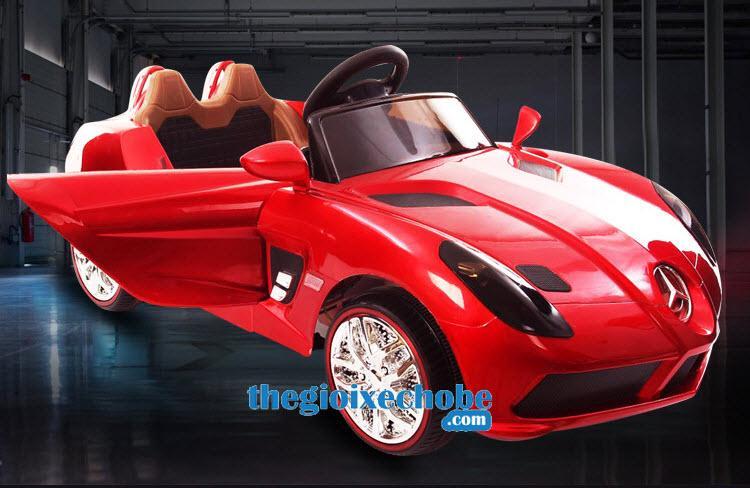 Xe ô tô điện trẻ em OZB-8888 màu đỏ