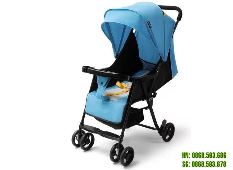 Xe đẩy cho bé Seebaby QQ3 màu xanh dương