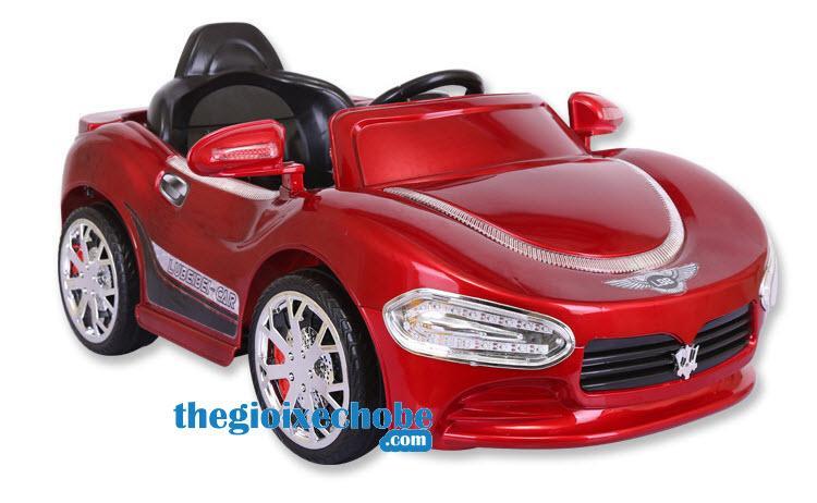Xe ô tô điện trẻ em HP-5188 màu đỏ