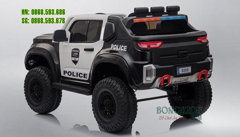 Xe ôtô điện cảnh sát cho trẻ em BLJ8888 B