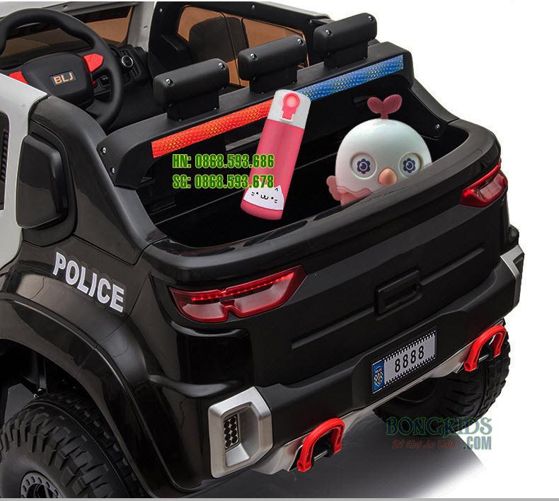 Xe ôtô điện cảnh sát trẻ em BLJ 8888 B